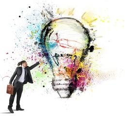 Inspiration to creative ideas