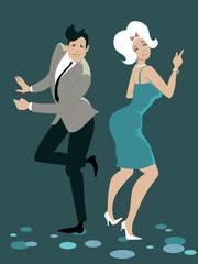 The twist dancing