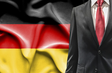 Man in suit from Germany