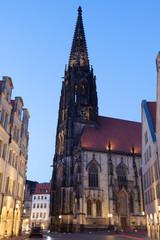 St. Lamberti Church in Muenster, Germany