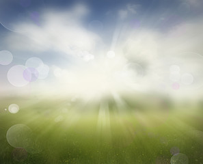 Abstract sprintime background