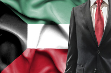Man in suit from Kuwait