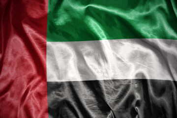 shining united arab emirates flag
