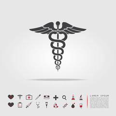 medical sign symbol icon