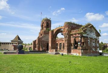 Руины собора Иоанна Предтечи. Крепость Орешек
