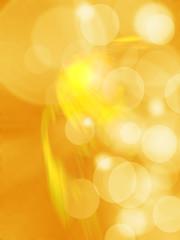 Goldbokeh abstract light background
