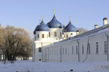 Крестовоздвиженский собор Свято-Юрьева монастыря