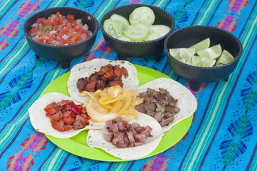 Mexican barbecue taco cuisine