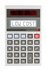 Old calculator - low cost