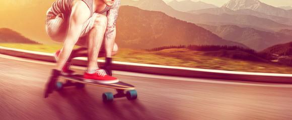 Longboard Cruising