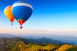 Leinwandbild Motiv Hot-air balloons