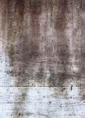 Graue Mauer mit Verfärbung