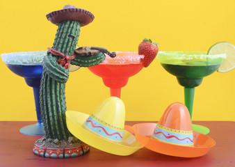 Happy Cinco de Mayo colorful party theme