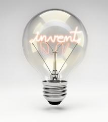 Lightbulb - Invent Concept (Set)