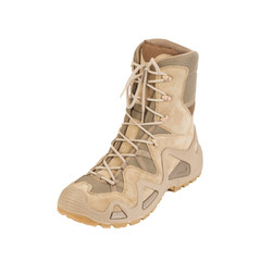 desert boot Isolated on a white background