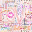 seamless pattern love background