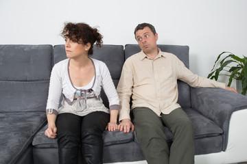 Couple have an argument
