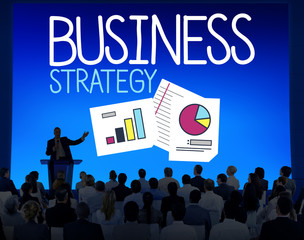 Business Strategy Collaboration Teamwork Professional Concept