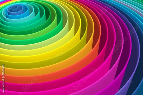 abstract background with lines circle color © profit_image