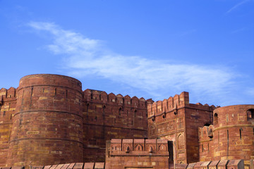The Red Fort, Agra, India