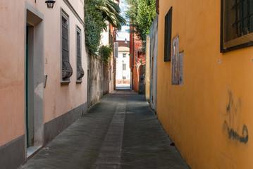 Strada vuota, vicolo, via, centro storico, Pisa