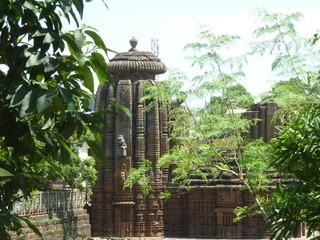 ブヴァネシュワールの寺院