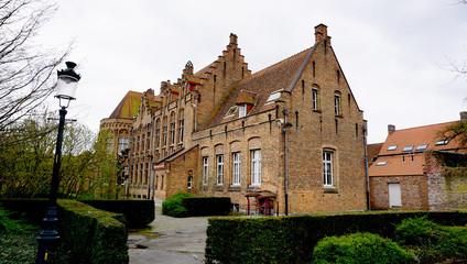 Historical building in Brugge Belgium