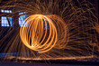 Leinwandbild Motiv Feuerball 2