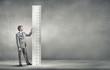 Leinwanddruck Bild - Measure your success