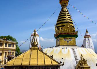 Swayambhunath stupa in Kathmandu