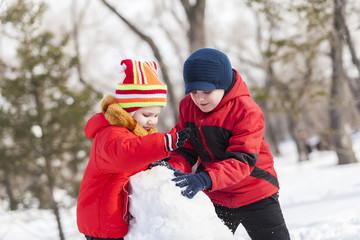 Winter active games
