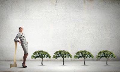 Deforestation problem