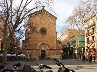 San Juan Baptist de Gracia Church   in Barcelona