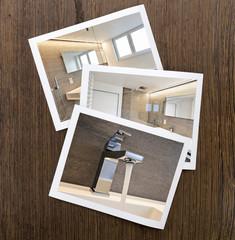 Polaroid-luxury bathroom