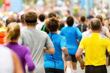 Zieleinlauf beim Marathon