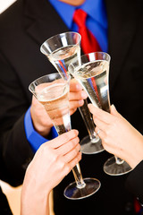 Business: Group Has Champagne To Celebrate New Success