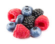 Fresh ripe berry on a white - 81716659