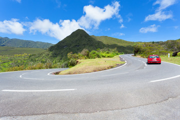 route des Plaines, île de la Réunion