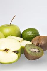 Green mixed fruit