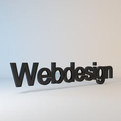 Webdesign Art - Blue/White