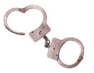 cops handcuffs closeup