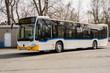 Leinwandbild Motiv Linienbus 01
