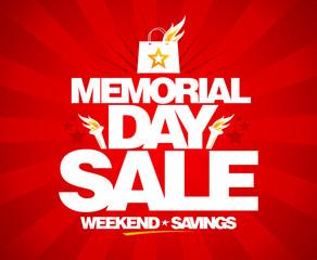 Memorial day sale, weekend savings.
