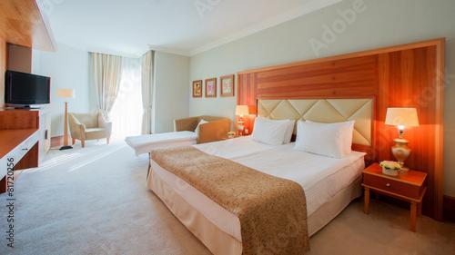 Interior design. Big modern Bedroom - 81720256