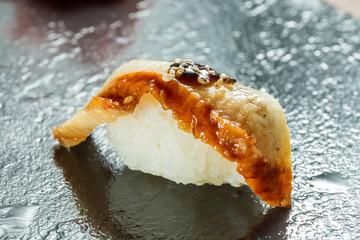 Organic Eel sushi nigiri