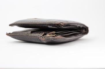 Dilapidated wallet