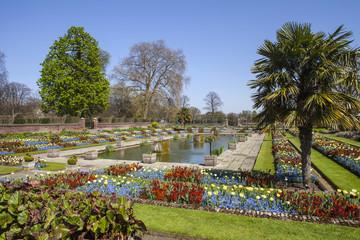 The Sunken Garden at Kensington Palace in London