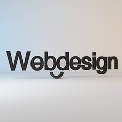 Webdesign Art - red/White