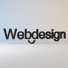 Webdesign Art - red/White