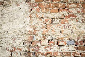 Backstein Wand